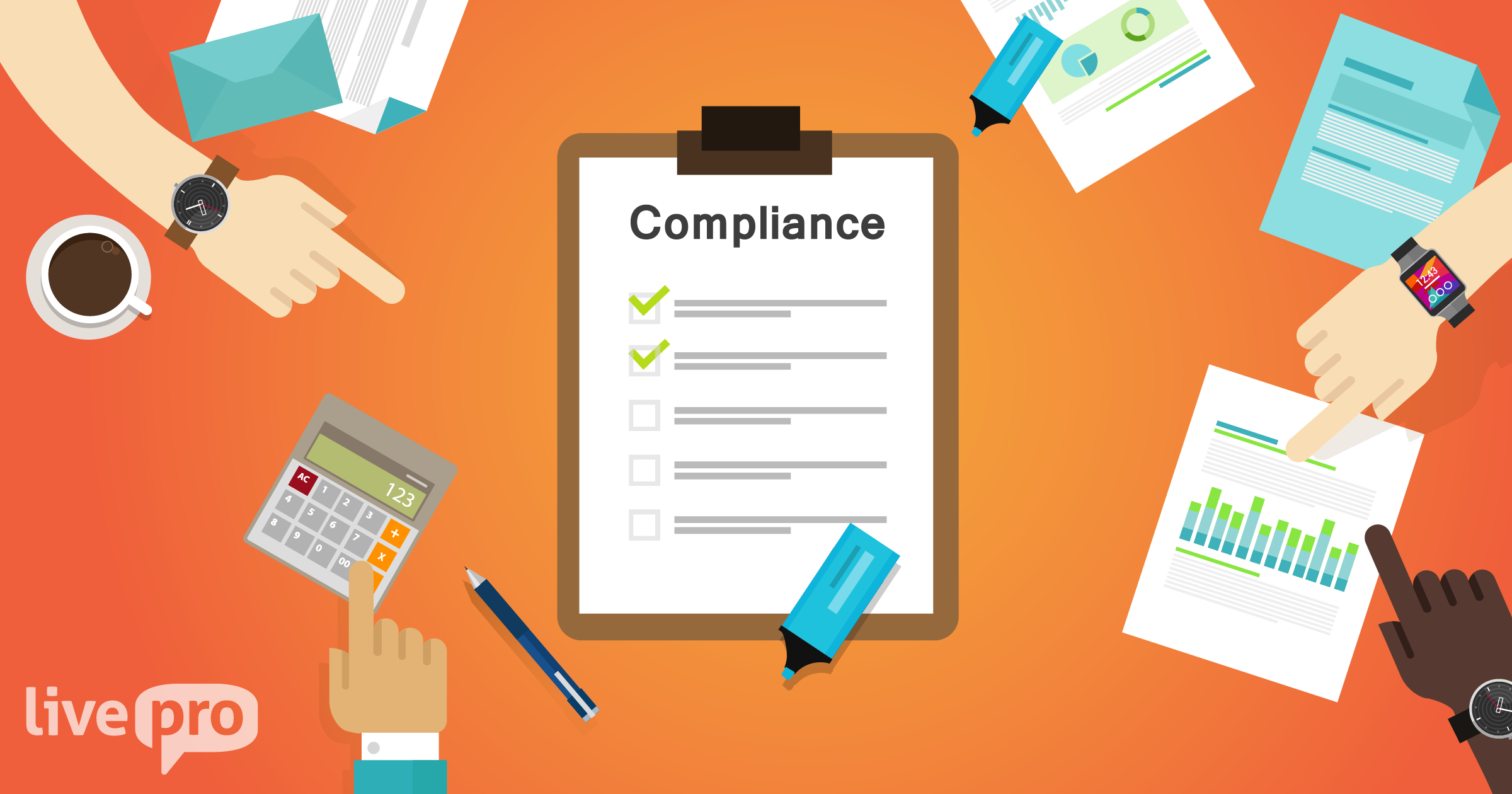 Compliance in customer service knowledge management